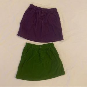 THE CHILDREN'S PLACE Bundle of 2 Skirts Size 6x/7